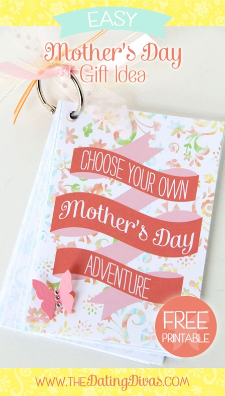 Choose Your Own Mother's Day Adventure Printable from The Dating Divas