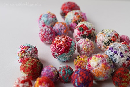 Fabric Balls from Journey into Creativity