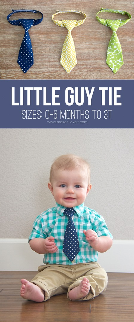 Little Guy Tie from Make It and Love It