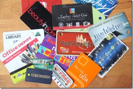 Loyalty Card Pocket 1