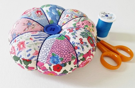 Pincushion from Mad for Fabric