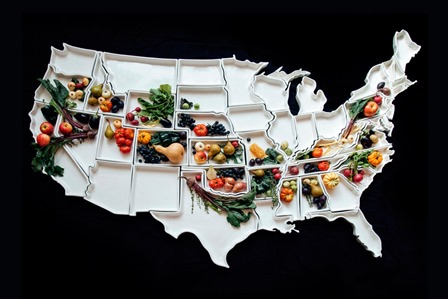 The Fifty United States Plates from Corbe