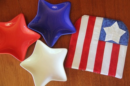American Flag Hot Pad by Crafty Staci