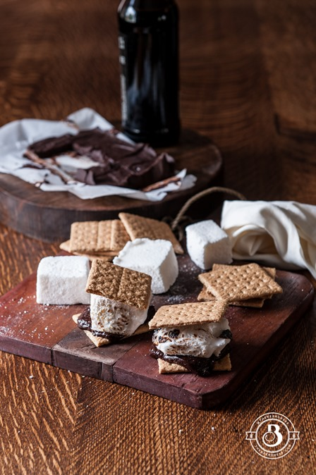 Beer S'Mores from The Beeroness