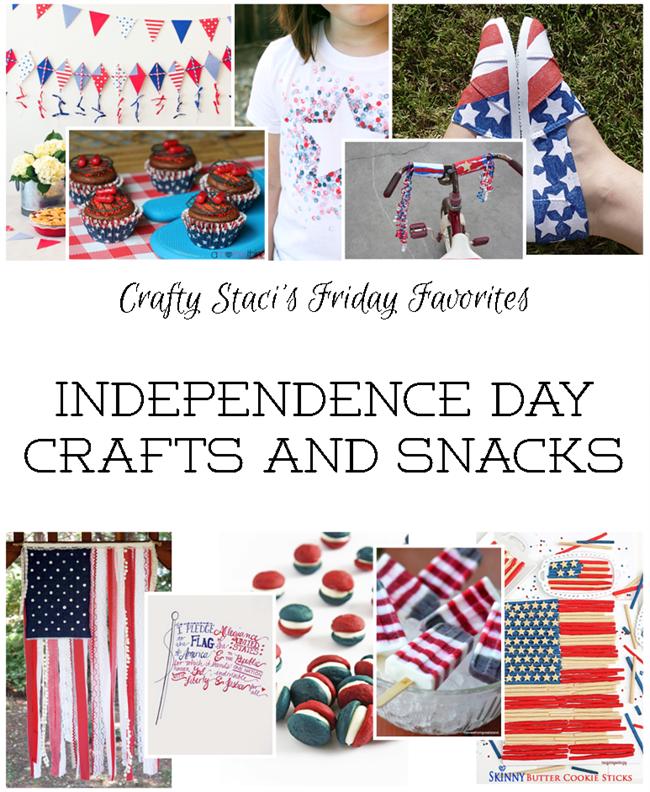 独立日Crafts and Snacks