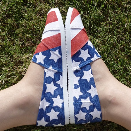 Patriotic Kicks from Dream a Little Bigger