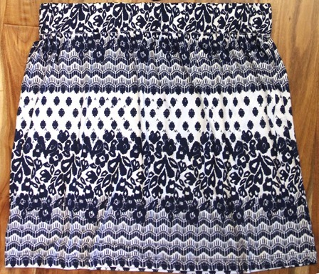 Skirt from Maxi Dress