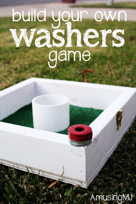 Washers Game from Amusing MJ