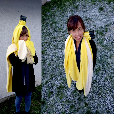 Giant Banana Peel Wearable on Instructables