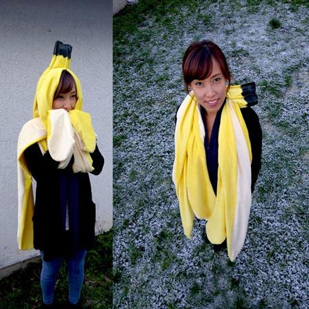 巨型香蕉皮可用于指导性物品