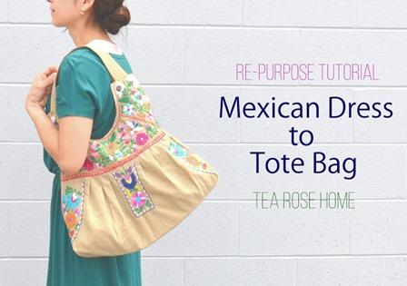 Tea Rose Home墨西哥风连衣裙到手提袋