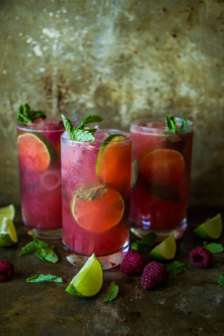 Heather Christo的Raspberry Mojitos