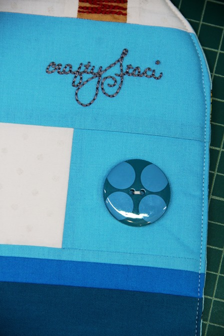 Sew on button