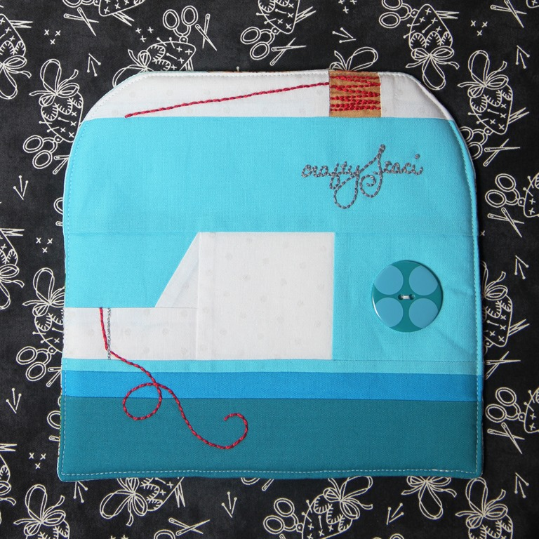 Hot Pad of the Month–July Sewing Machine — Crafty Staci