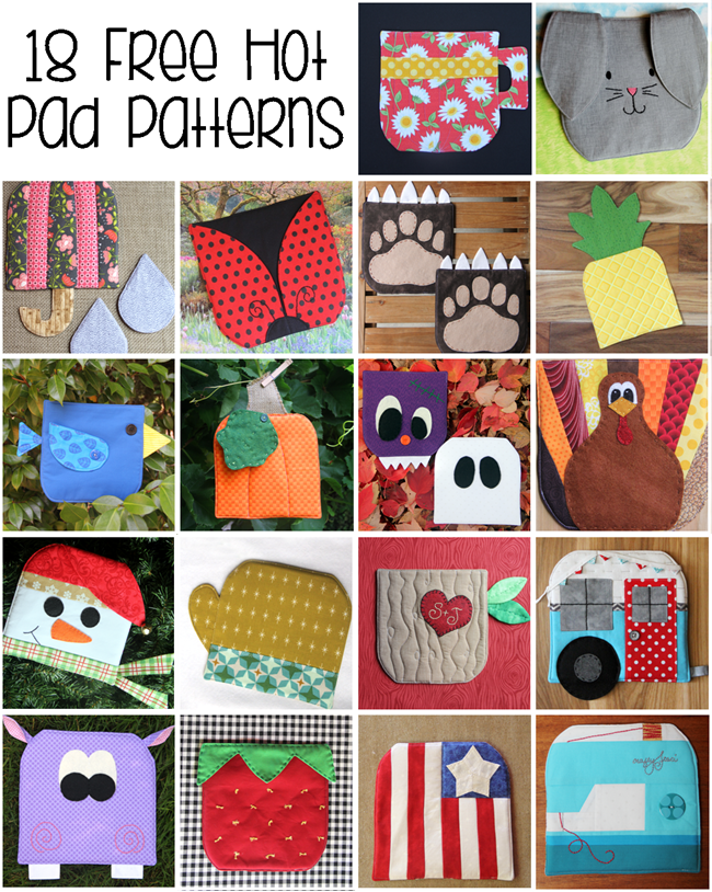 18 Free Hot Pad Patterns