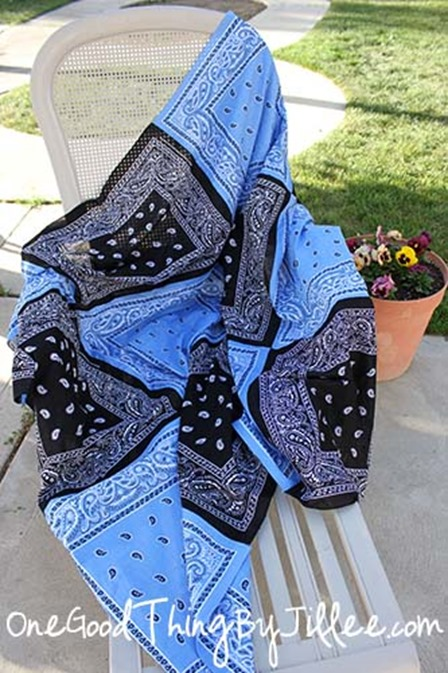 Bandana Quilt from One Good Thing by Jillee