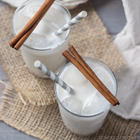 Coconut Horchata from Baking a Moment