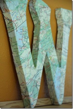 Map Monogram 1