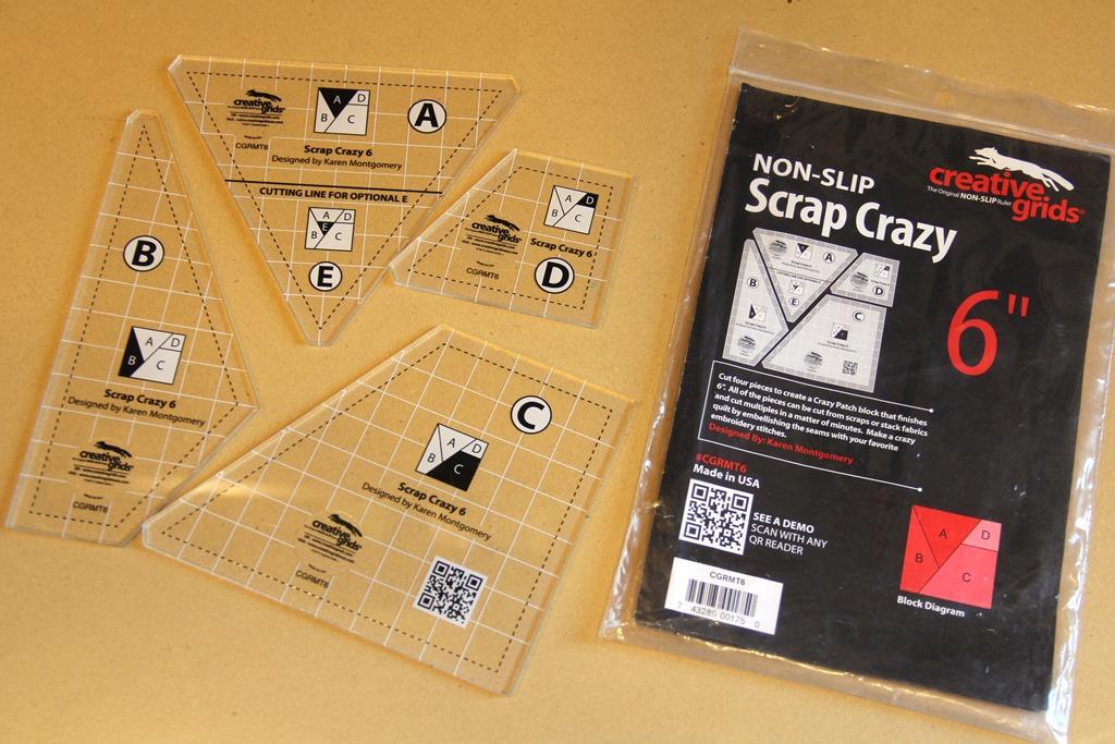 Scrap Crazy Quilt Templates — Crafty Staci