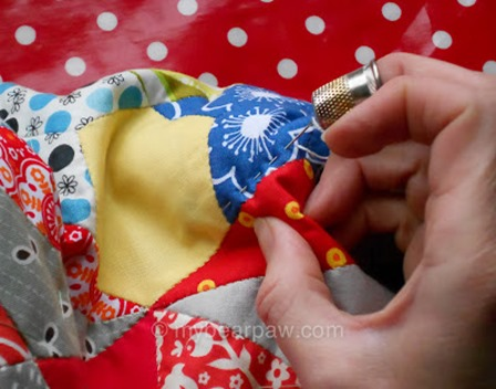 Hand Quilting Tips from She Can Quilt