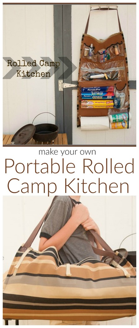 Rolled Camp Kitchen from Today's Creative Life