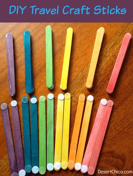Velcro Craft Sticks from Desert Chica
