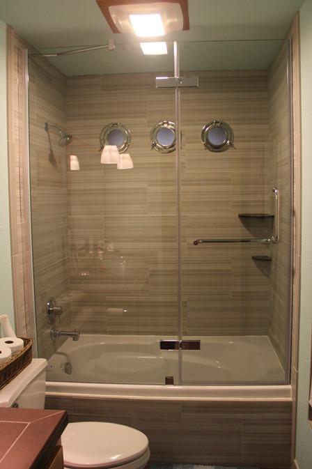 Finished bathtub
