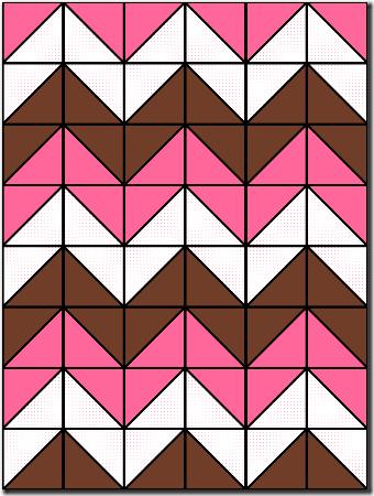 Chevron Baby Quilt pattern