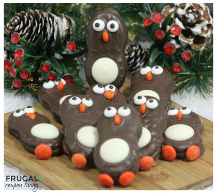 Nutter Butter Penguins from Frugal Coupon Living