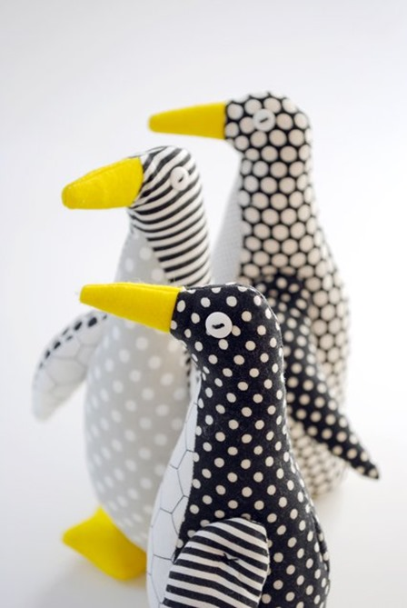 Purl Bee Penguin from Purl Soho