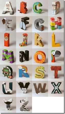 Alphabet from Digitprop
