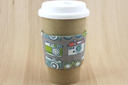 相机咖啡杯套-CraftyStaci