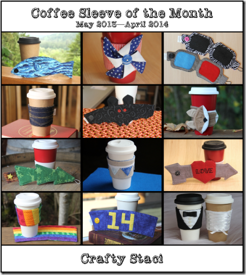 Coffee Sleeve of the Month - A Year in Review