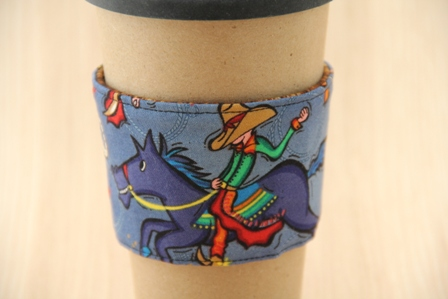 Cowboy Coffee Cup Sleeve - CraftyStaci