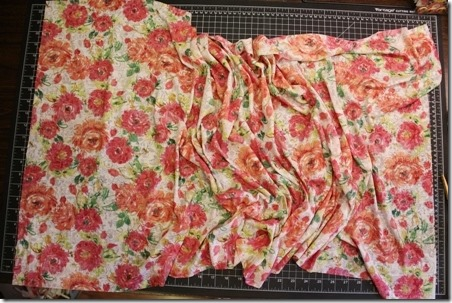 Easy Floral Infinity Scarf - Crafty Staci 2