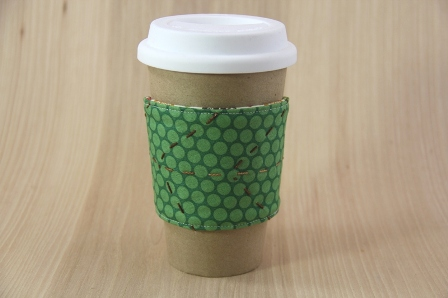 Leaf Coffee Cup Sleeve - CraftyStaci