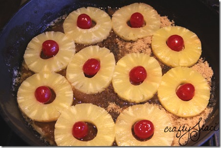 Pineapple Carrot Upside Down Cake - Crafty Staci 2