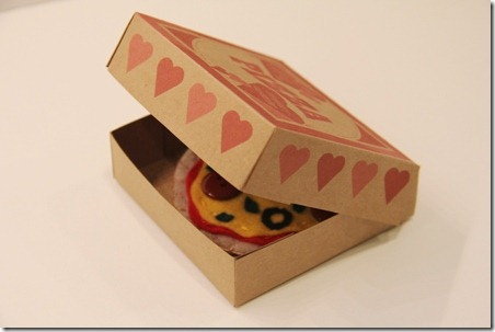 Pizza Box Valentine 14