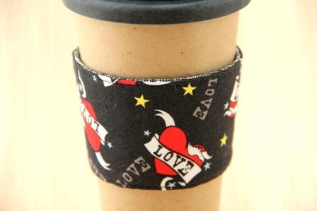 纹身咖啡杯套-CraftyStaci