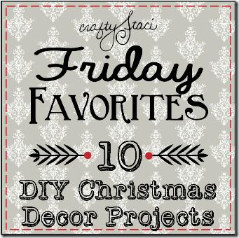 10个DIY圣诞装饰项目-Crafty Staci