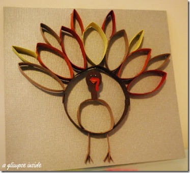 A Glimpse Inside Paper Roll Turkey