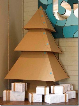 纸板圣诞树-关于Instructables的Makedo