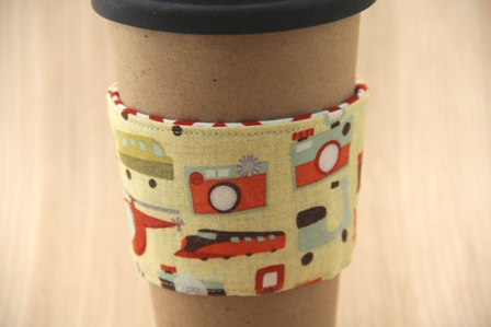 Vacation Coffee Cup Sleeve - Crafty Staci