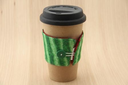 西瓜咖啡杯套-CraftyStaci
