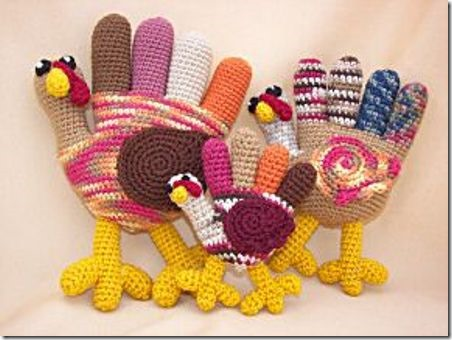 Crafty Deb Hand Turkey Trio