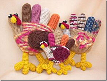 Crafty Deb Hand Turkey Trio