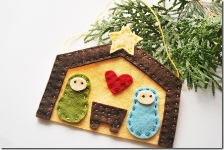 Felt Nativity - Wild Olive