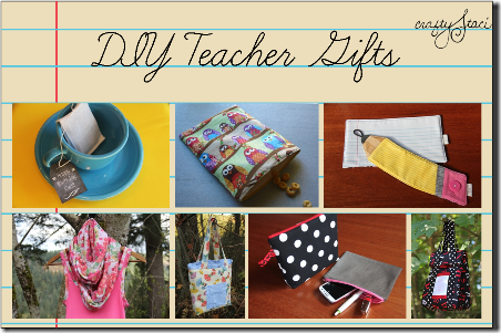 DIY Teacher Gifts by Crafty Staci