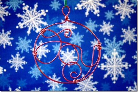 Wire Ornament - The Crafty Sisters