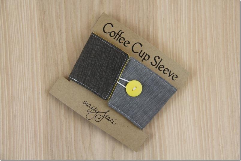 咖啡杯套-CraftyStaci
